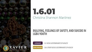 XULA 2021   1.6.01 – Christina Martinez