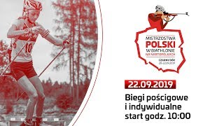 Mistrzostwa Polski w Biathlonie na Nartorolkach 2019 - biegi pościgowe i indywidualne