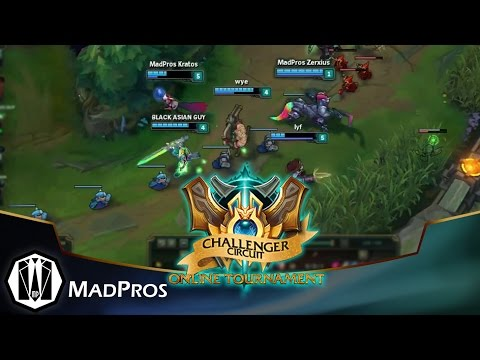 [LoL] MadPros vs Tabhunter and Yssa Forever - Semifinals Challenger Circuit Sept. 25, 2015