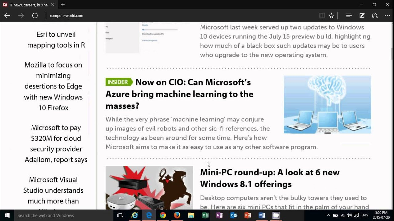10 Reasons You Should Be Using Microsoft Edge Now