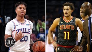 Why Hawks would be perfect fit for Markelle Fultz in trade with 76ers | The Jump