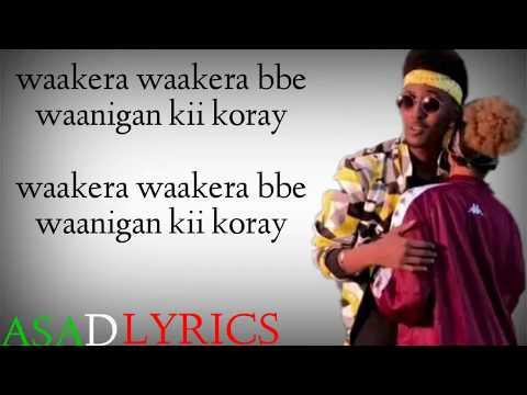 Wakera lyrics liilbaliil