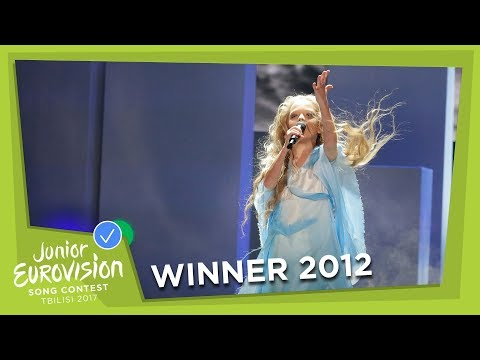 JUNIOR EUROVISION 2012: ANASTASIYA PETRYK - NEBO - UKRAINE 🇺🇦  - WINNER