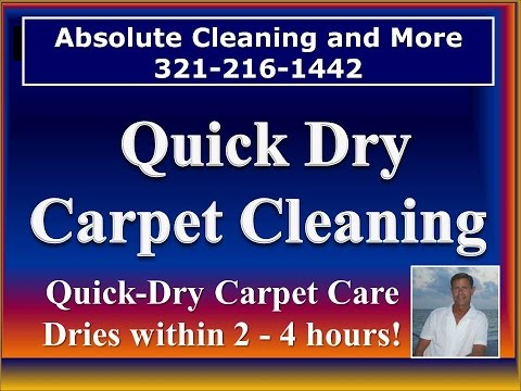 Quick Dry Carpet Cleaning Orlando 321-216-1442