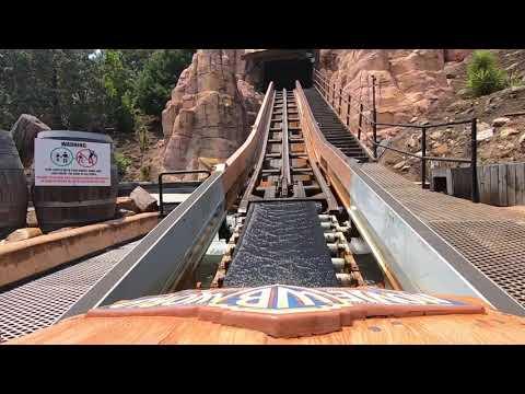 Wild West Falls (Movie World Gold Coast Australia) [FOV] Gopro 7