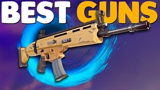 BEST WEAPONS GUIDE | Fortnite Battle Royale