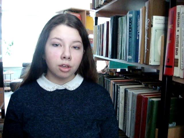 Изображение предпросмотра прочтения – АнастасияШмидт читает произведение «После половодья» И.А.Бунина