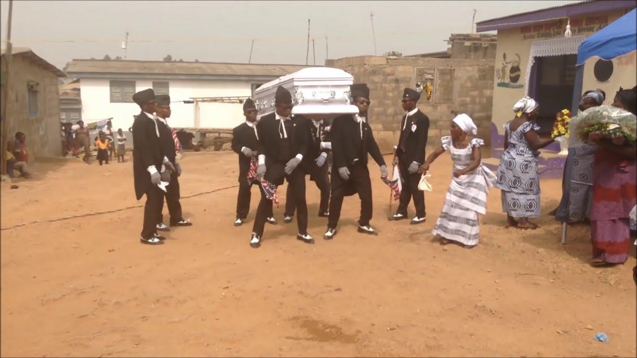 Professional Dancing Pallbearers - Ghana  Travelin Sister 06:11 HD
