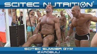 Scitec Summer Gym – Záróbuli