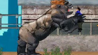 King Kong Rampage (Full Game) - BIG BAD APE Go Wild