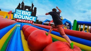 The Big Bounce America - Hartford Connecticut GoPro Vlog (and Epic Fails)