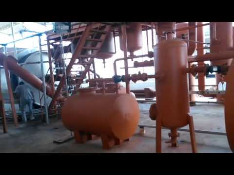 Tire to Oil Pyrolysis Machine for Sale/Waste Tyre Oil Plant