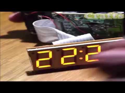 DIY Wooden Digital Clock