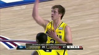 Spike Albrecht 17 points in NCAA Championship Game Full Highlights (4/8/13)