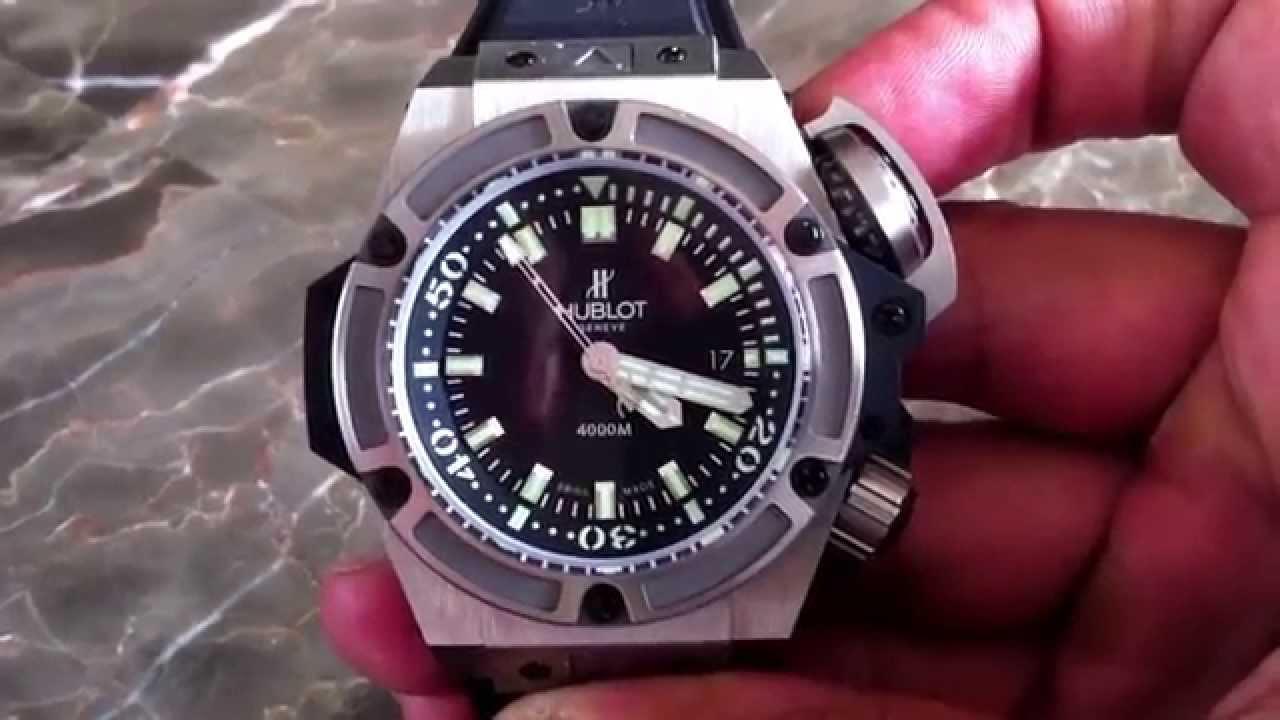 hublot diver 4000