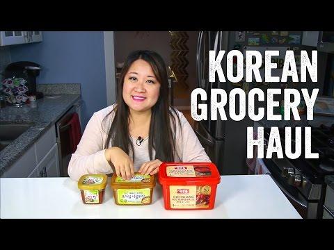 Korean Grocery Haul + Ingredients Guide : Chef Julie Yoon