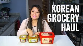 Korean Grocery Haul + Ingredients Guide : Chef Julie Yoon