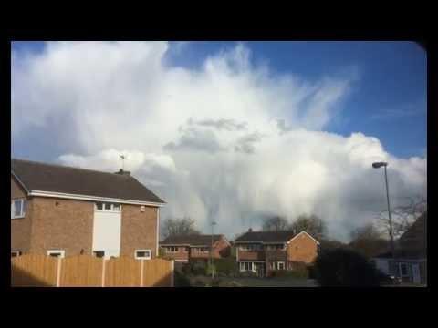 wierd cloud