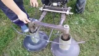 Обзор косилки роторной 2 часть