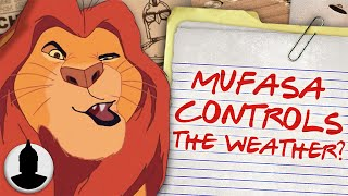 Does Mufasa from Lion King Control the Weather?! - Cartoon Conspiracy (Ep. 122)
