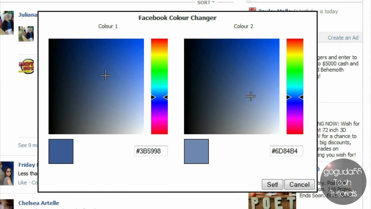 How To Change Your Facebook Color Scheme