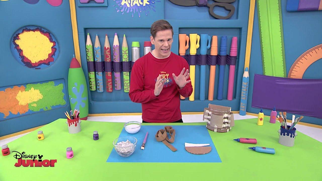 Art attack travel bag disney junior uk hd youtube - Videos de art attack manualidades ...