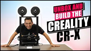 Unboxing the Creality CR-X Multi-color 3D Printer