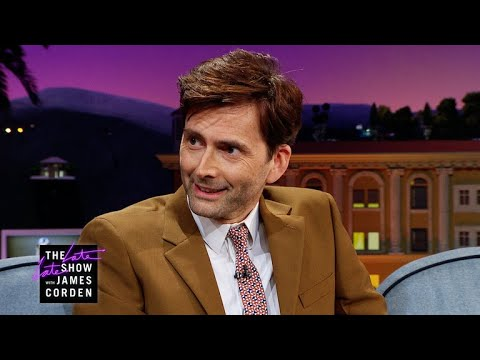 David Tennant Got Very Familiar with a 'Dr. Who'