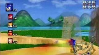 Sonic R Saturn version - Part 1 (Resort Island)