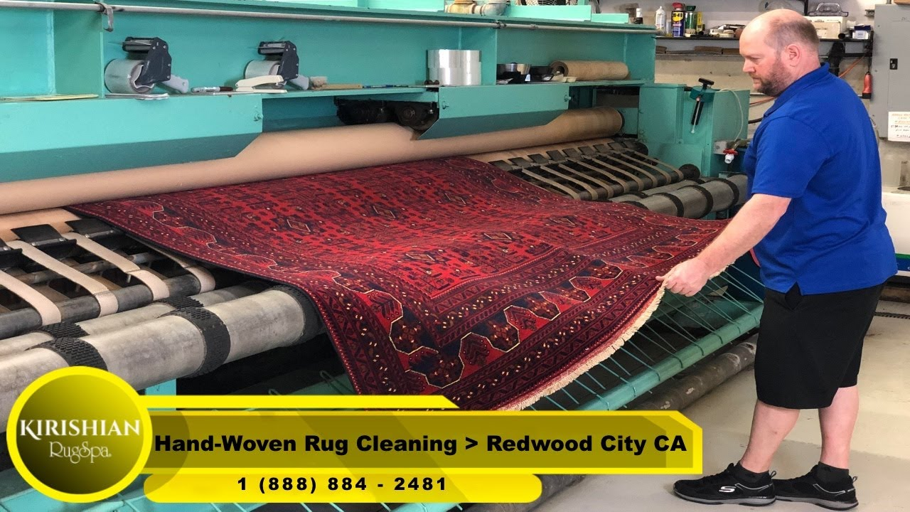 Hand-Woven Rug Cleaning Redwood City CA