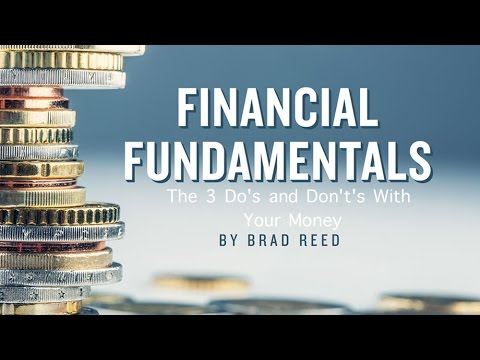 Financial Fundamentals: The Do's and Don't's with YOUR Money