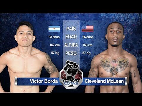 Victor Borda vs Cleveland McLean