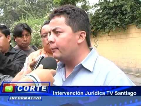 Intervencion de canal Santiago de Antigua Guatamala
