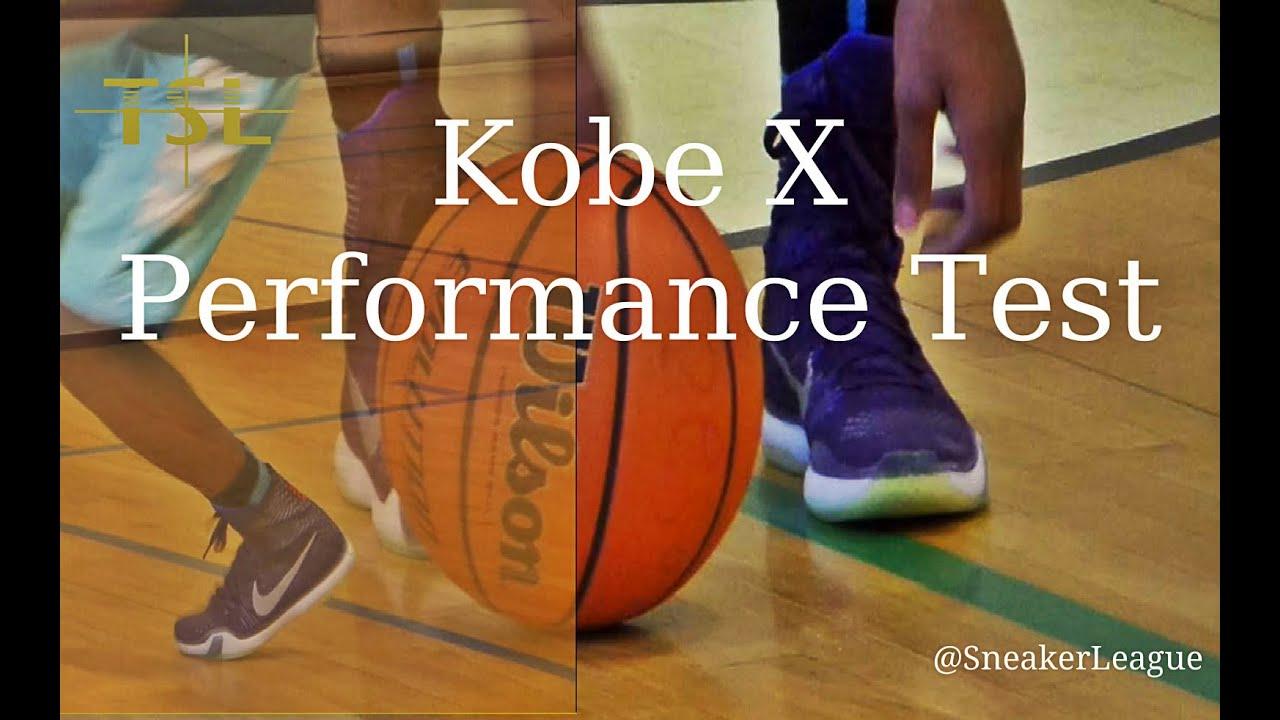 02aa8cb7dbe Kobe 10 ELITE Performance Test - Review - On Court - YouTube