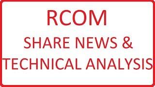 RCOM SHARE LATEST NEWS TODAY    RCOM SHARE TECHNICAL ANALYSIS