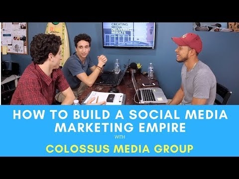 How to Start a Social Media Marketing Agency with Colossus Media Group