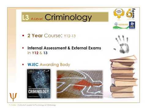Open Day 2020 - Psychology & Criminology