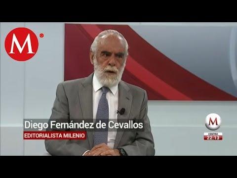 Hay 10 puntos favorables en este arranque de gobierno, Diego Fernández de Cevallos