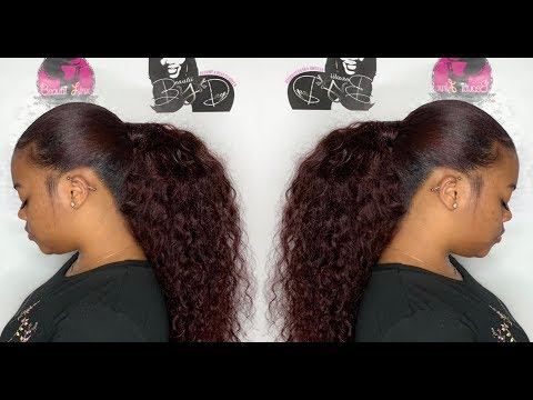 🎀Beautii🎀 Classes 3 Invisible ponytail