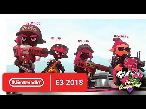 2018 Splatoon 2 World Championships - Opening Rounds - Round 1 - Nintendo E3 2018