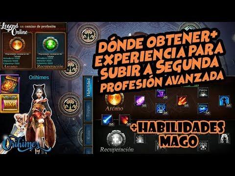 Legend Online  - Segunda Profesion Avanzada - Habilidades Mago