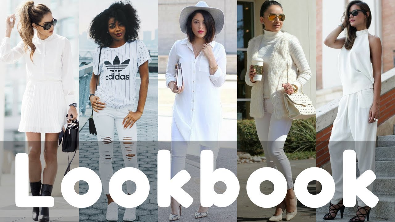 2018 Latest Fashionable White Outfits for Spring | Outfits Lookbook