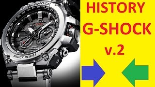 Collection Casio G-Shock | Casio G-Shock history(Collection Casio G-Shock | Casio G-Shock history. The most anti-shock watch collection in the world with waterproof to 20 bar . G-Shock is : G-SHOCK gold ..., 2015-11-05T16:02:12.000Z)