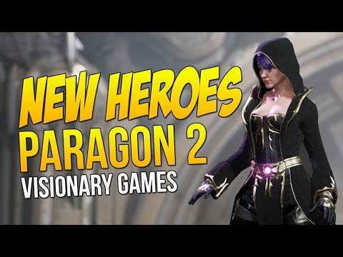 PARAGON 2 WITH NEW HEROES?! (Visionary Games Project Phoenix Rising)