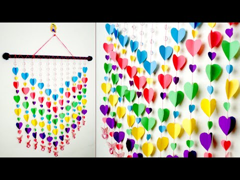 DIY !! HandmadeThings || How to Make Paper Wall Hanging | Paper Craft