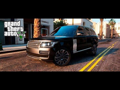 GTA 5 Mods : Range Rover Vogue