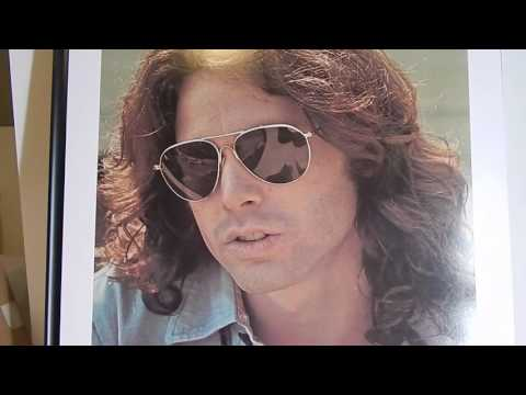 JIM MORRISON THE DOORS AND BOB MARLEY VINTAGE ART POSTERS 60'S 70'S