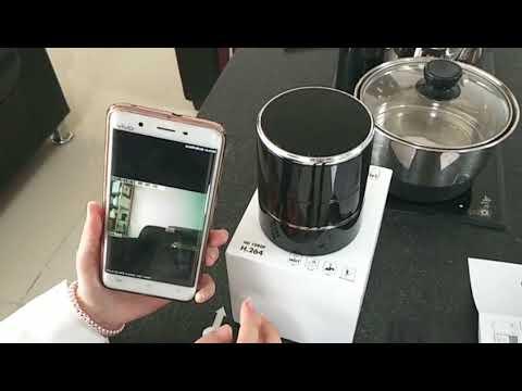 Top Spy Camera 180° Rotating But hidden 1080P Wireless WiFi Speaker Camera