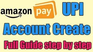 Amazon pay upi Create Account |how to use amazon pay upi|amazon pay emi|Amazon upi.by technical