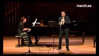 DUO ALFAGEME - Robert Schumann - 3 Romances op.94 (Clarinet and piano)